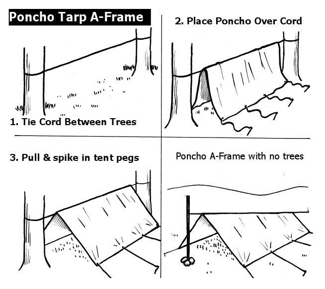 A frame tarp shelter  sc 1 st  SURVIVALIST.COM & BUILD OR FIND SHELTER | SURVIVALIST.COM | SELF-RELIANCE | PREPAREDNESS
