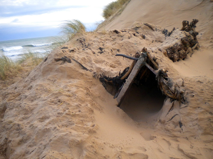 Beach Survival Shelter