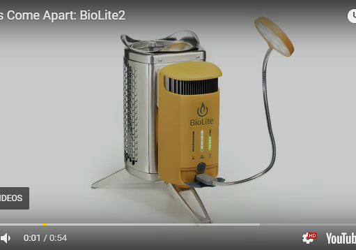Things Come Apart The Biolite Campstove