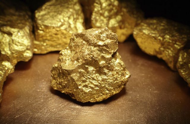 Gold nuggets