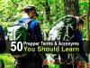 50 Prepper Terms