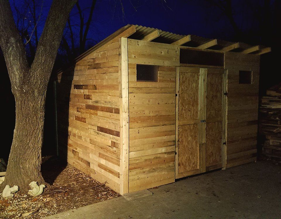 Pallet Shed Survivalist Com Self Reliance Preparedness