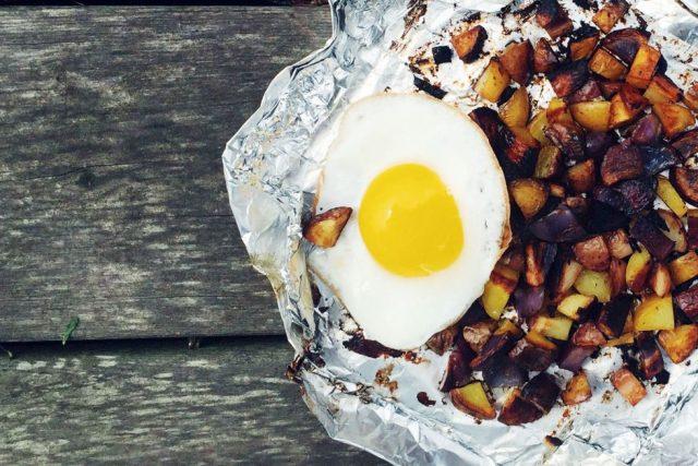 Hash & Fried Egg Recipe