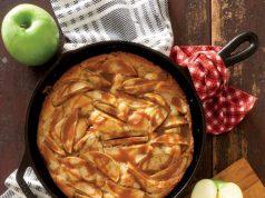 Apple Skillet Cake