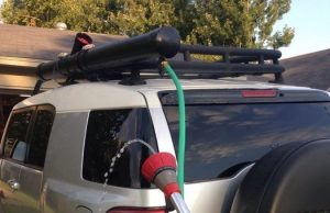 Roof Rack Shower
