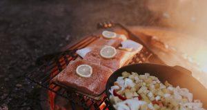 Salmon-on-plank-in-firepit